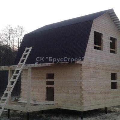 Дом 6х6 из профилированного бруса , Адрес: Серпуховский район , д Иваньково.