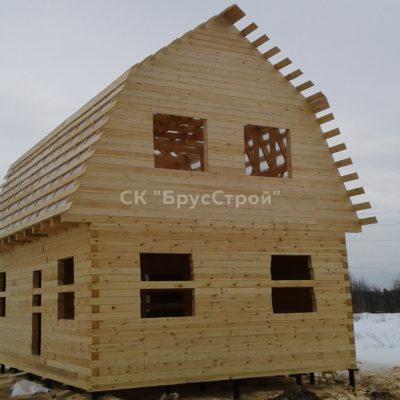 Дом 6х9 из профилированного бруса, Адрес:Юрьев-Польский