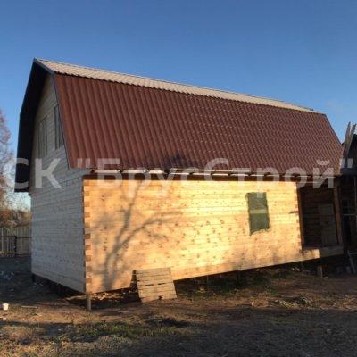 Дом под усадку с размером 6м х 10.5м из профилированного бруса 145х145, Адрес:Ивановская обл, Фурмановский район, с Игнатовское.