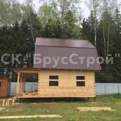 Построена баня в Чеховском районе (май 2020)